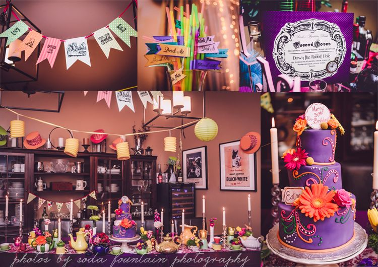 Alice In Wonderland 30th Best Birthday Party Ideas Chicago