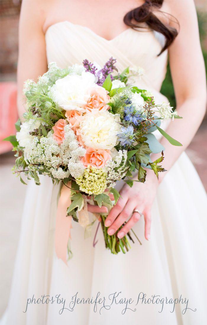 vintage textural bouquet