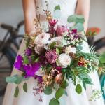 colorful garden bouquet