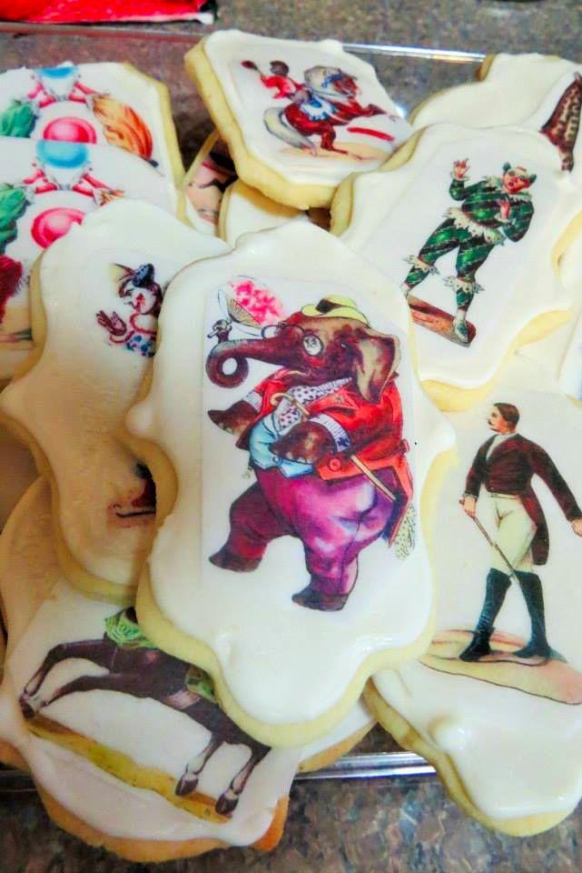 circus art cookies