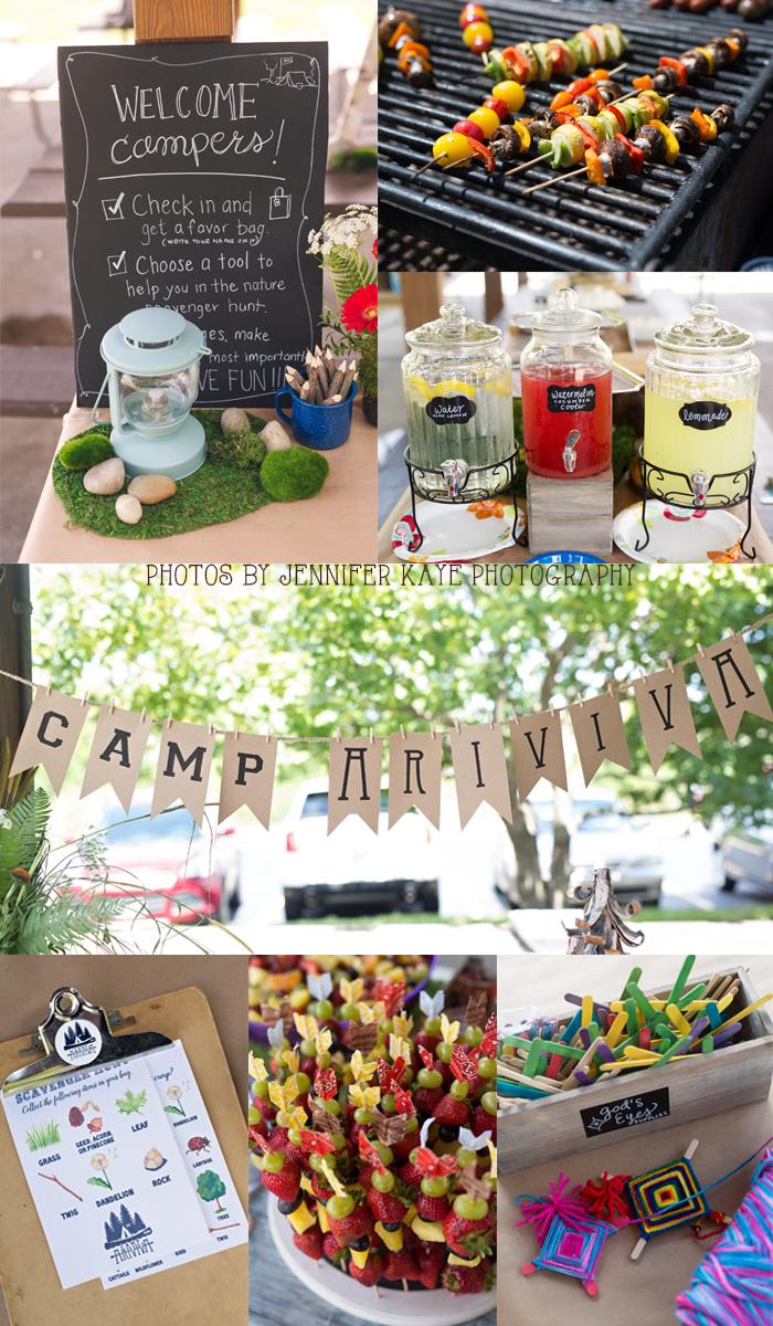 camp birthday