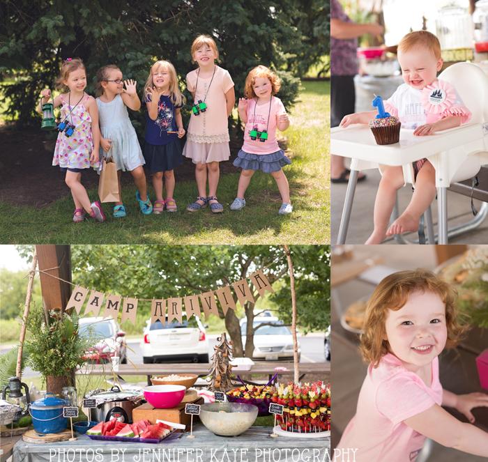 summer camp birthday